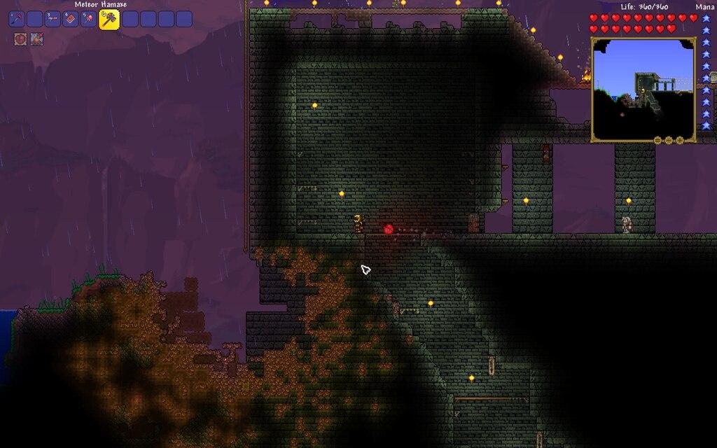 Terraria Meteor Hamaxe