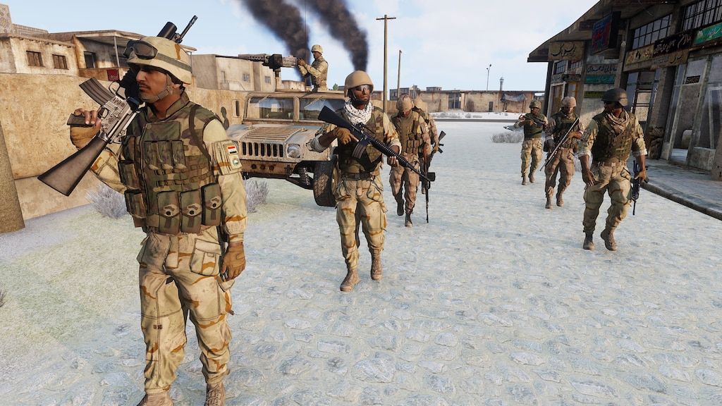 Steam Community :: Screenshot :: Iraqi Army Regulars advance