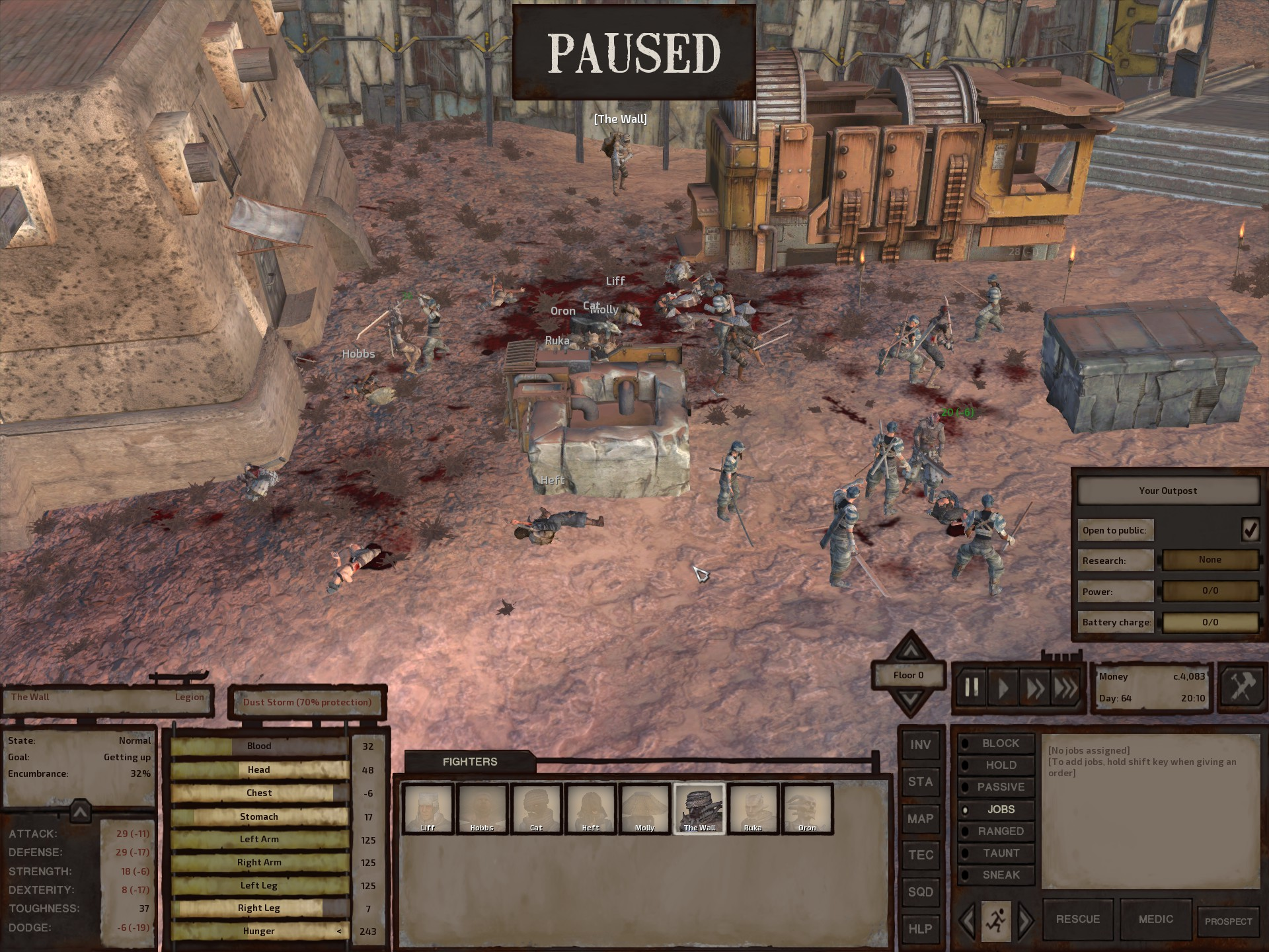 Kenshi - open-ended sandbox RPG set in a desert world | Page