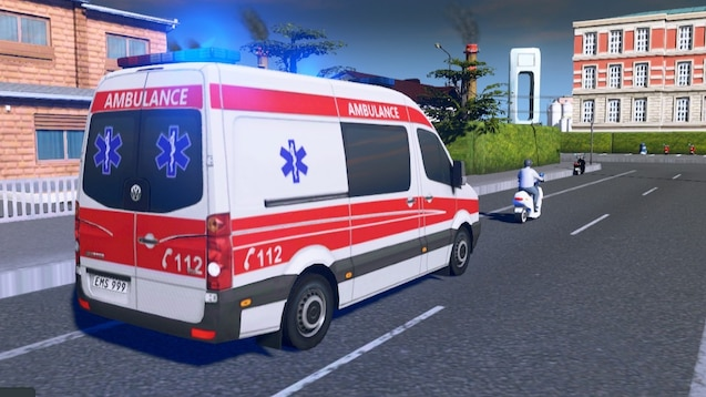 Steam Workshop :: Volkswagen Crafter (2008-2016) MWB Ambulance