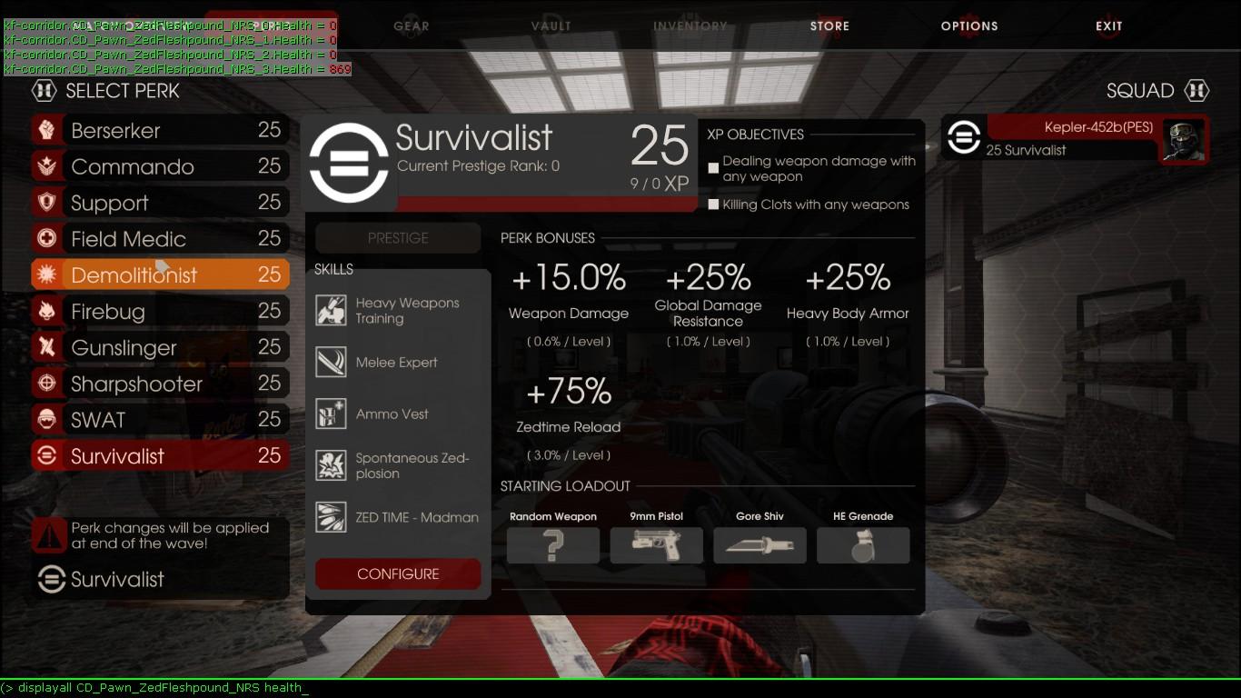 Killing Floor 2 Console Commands Admin Home Plan