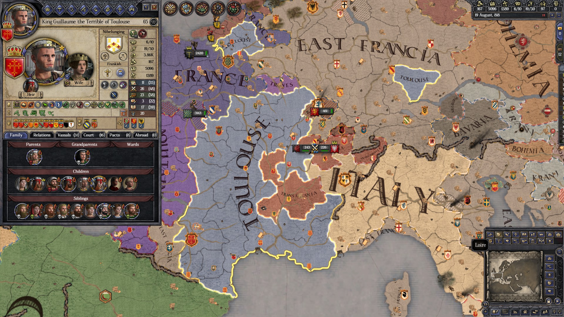 Crusader Kings II: Holy Fury - remember to spay and neuter your