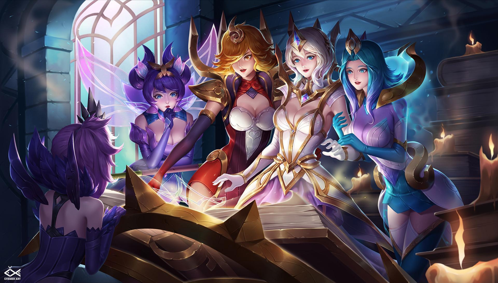 Steam Workshop Lux League Of Legends