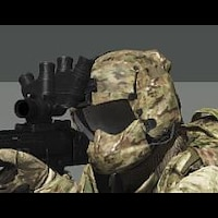 Paar wo 1 Regiment Sergeant Major Slides Multicam Mtp Kompatibel Patch