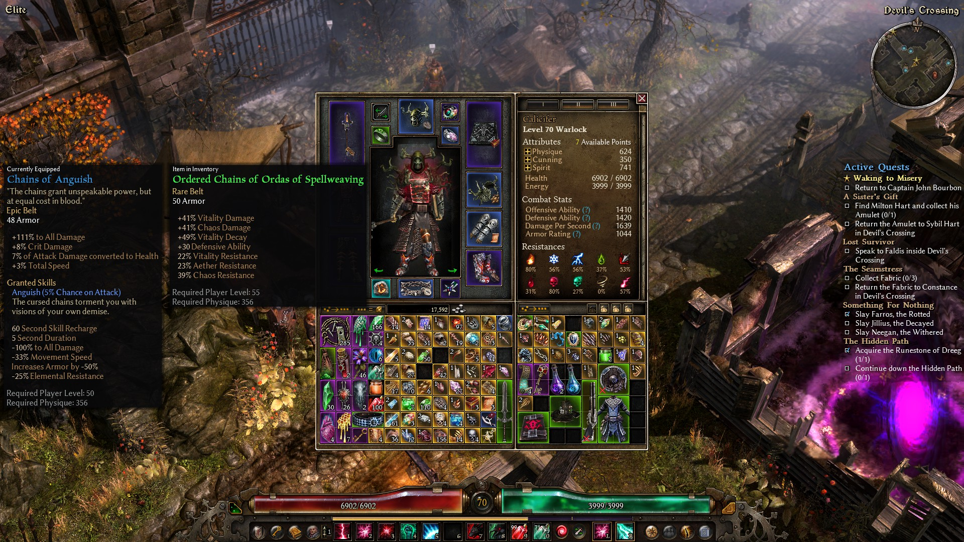 Kra'vall, Ancient of the Waters :: Grim Dawn General Discussions