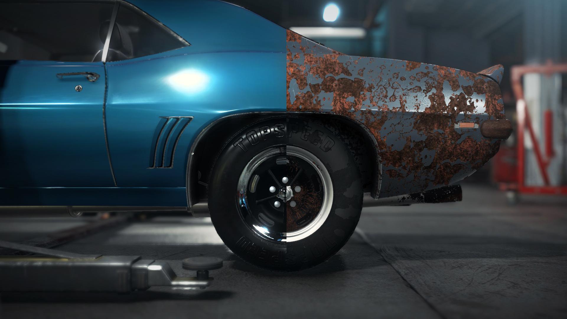 Car Mechanic Simulator 2018 :: Engine SWAPS + rims PAINTING +