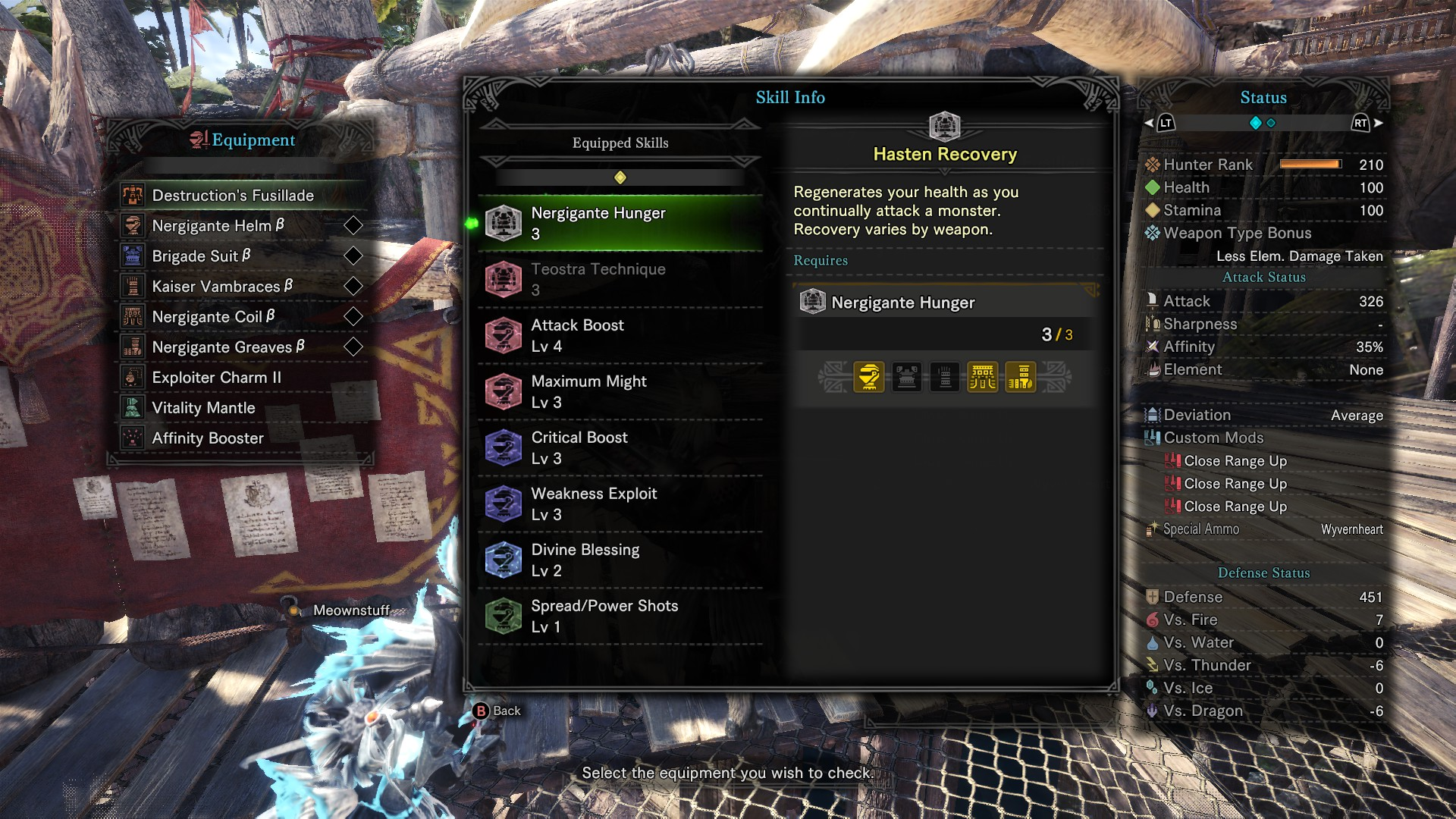 Bow, coatings and dps output :: MONSTER HUNTER: WORLD General