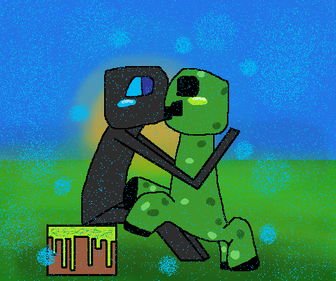 steam community enderman and creeper a love story
