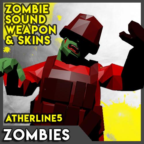 Zombies Mod (Skin & Sound weapon)