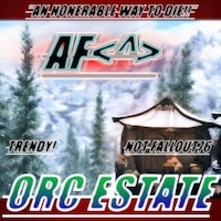AF's!!Orc Estate!!<^>画像