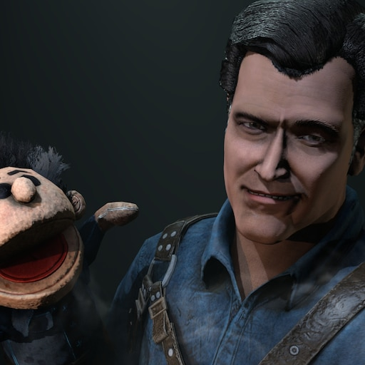 Steam Workshop Dead By Daylight Ash Williams And Puppet