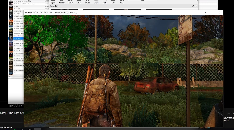 Steam Community :: :: Last of Us RPCS3 0 05-7154