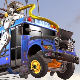fortnite battle bus thank the bus driver - fortnite bus model