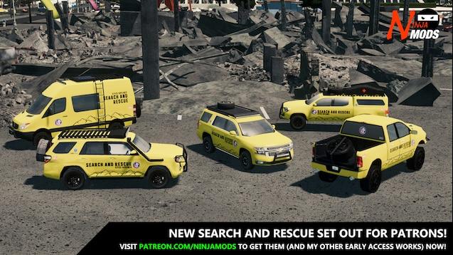 Steam Workshop :: 2018 FEMA Chevrolet Tahoe