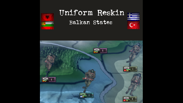 Minor Immersion Reskin: Balkans- Skymods