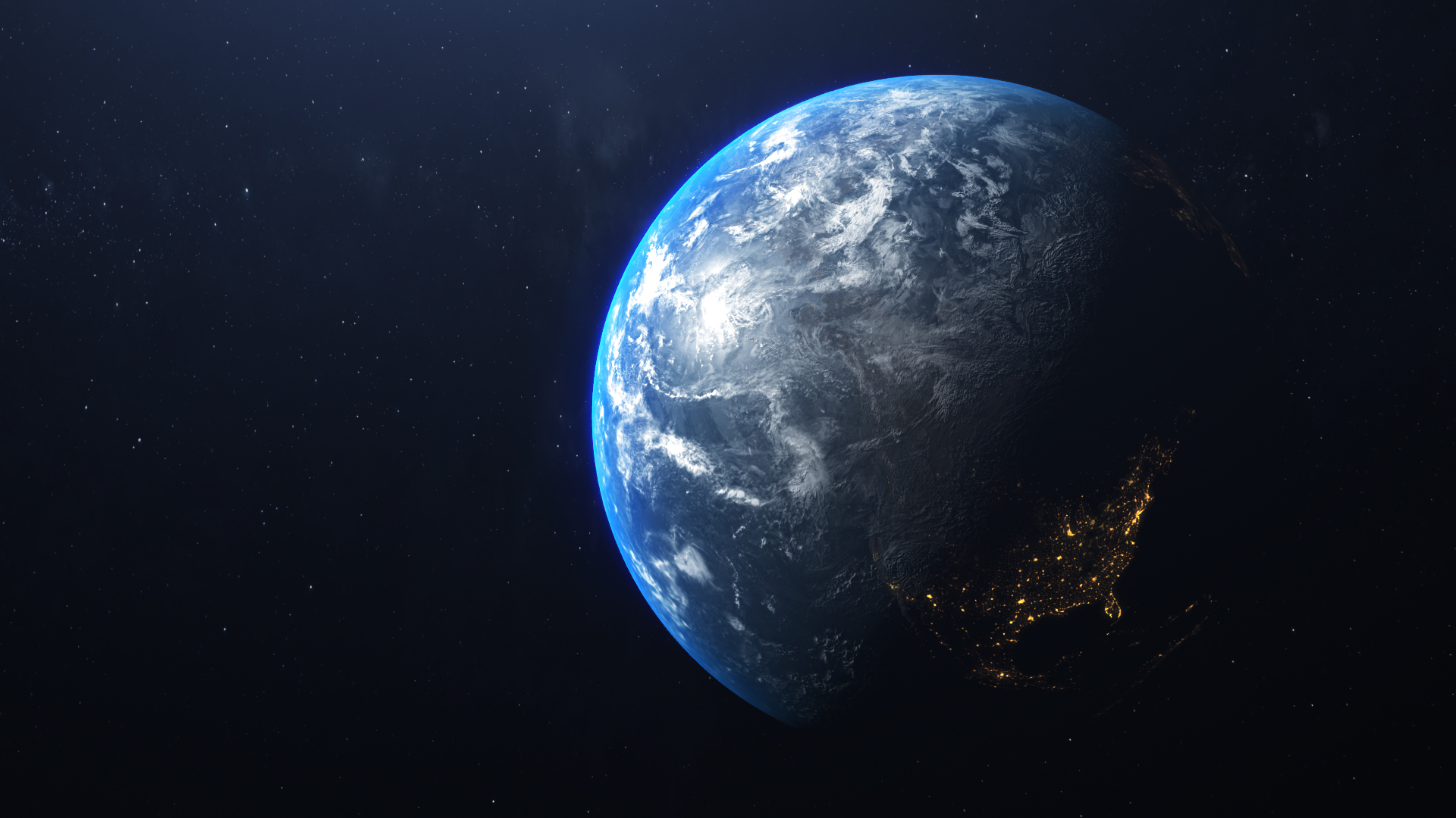 Steam Workshop 4k Earth Rotation Milky Way Looped Large Hq