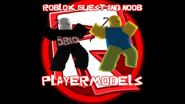 Steam Workshop Roblox Guest And Noob Playermodel - steam workshop roblox rp addons