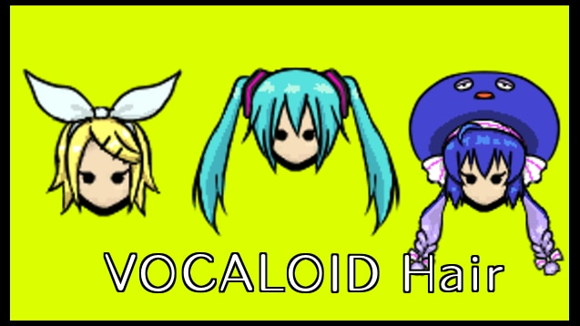 Steam Workshop :: [Uru] VOCALOID Hair (1 0)