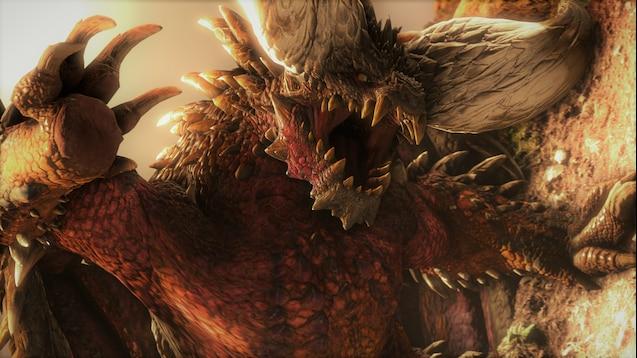 Steam Workshop Nergigante The Elder Dragon Wip