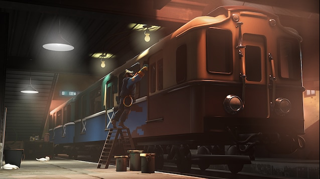 Sfm Subway Map.Steam Workshop Metro Train