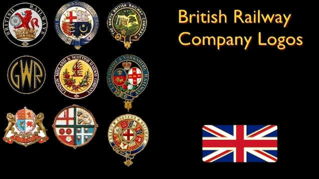 Steam Workshop :: British Railway Company Logos