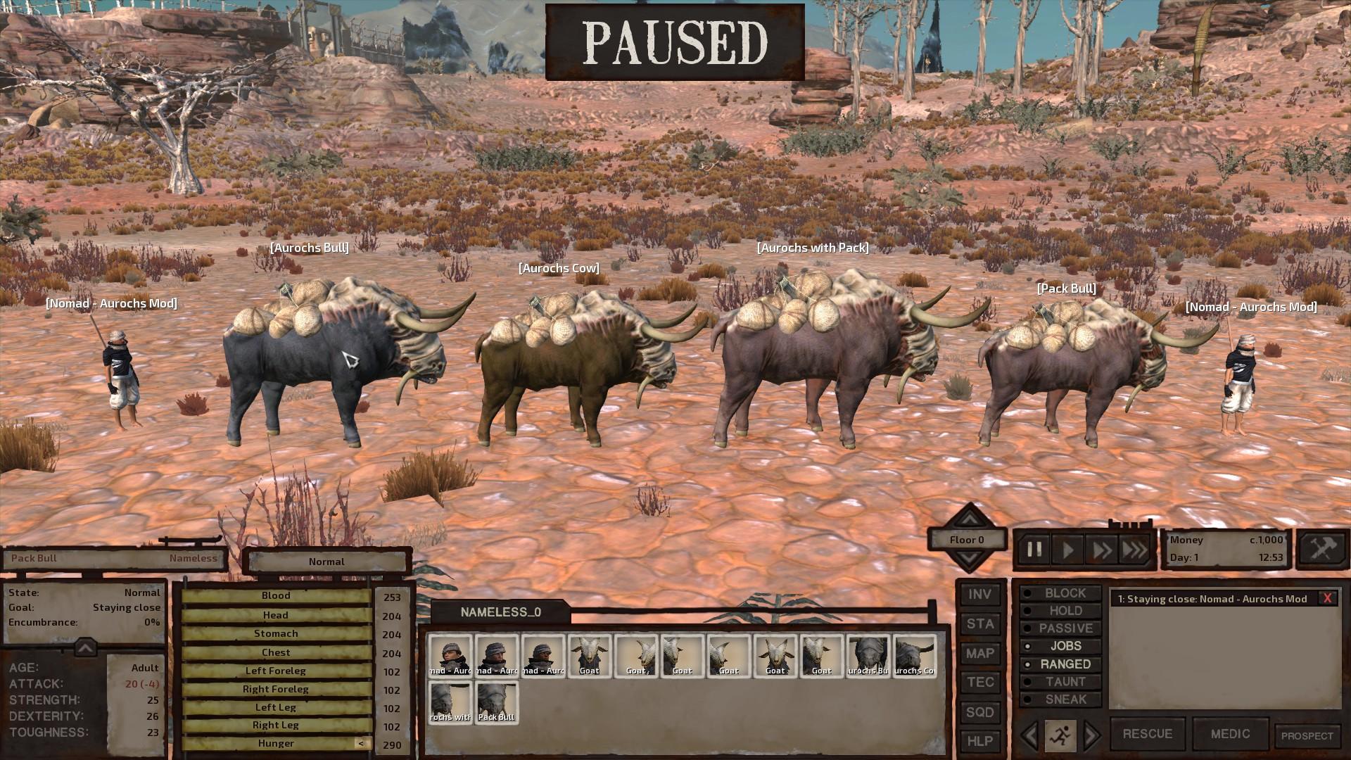 Steam Workshop :: Aurochs - A better breed of Pack Bull