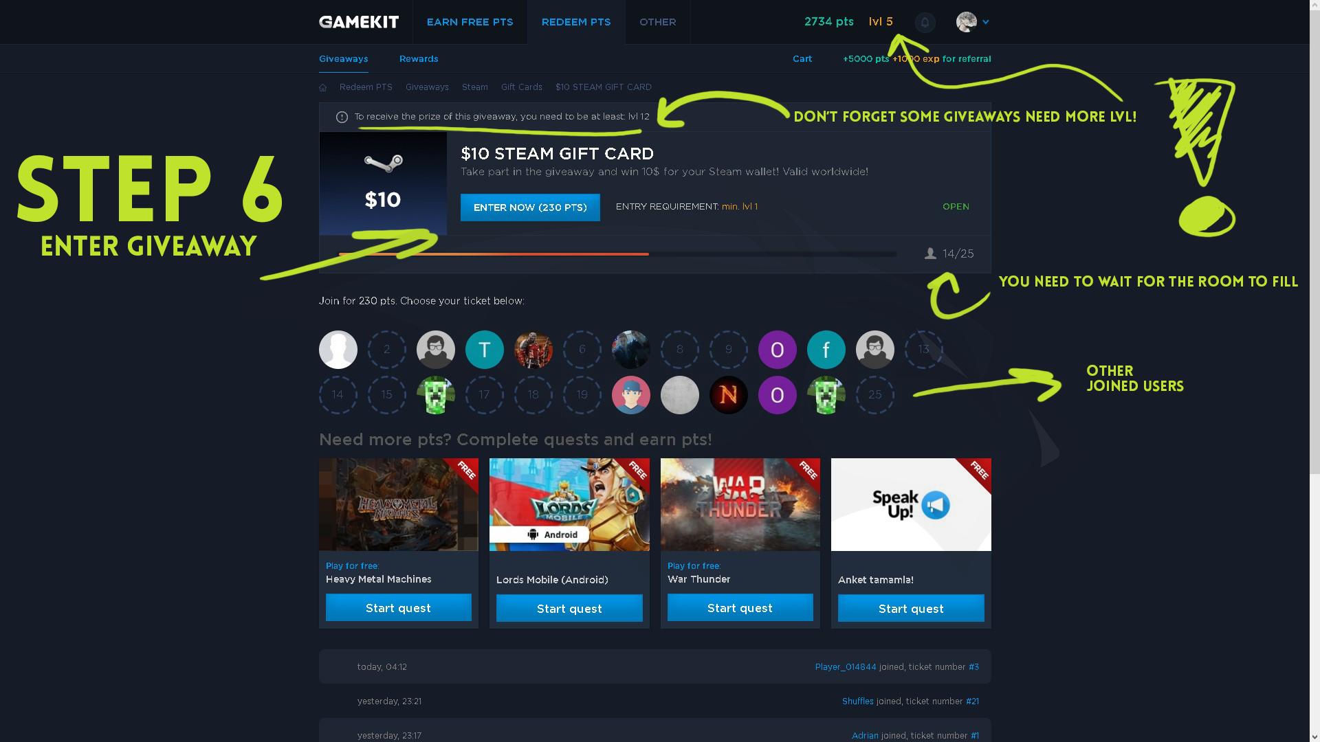 Gamekit Random Steam Gift Card - Classycloud co