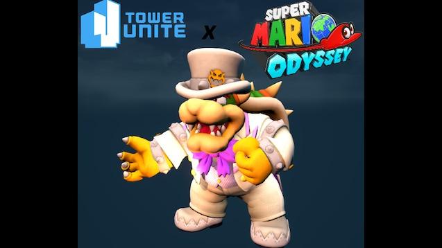 Steam Workshop Super Mario Odyssey Bowser Wedding Outfit