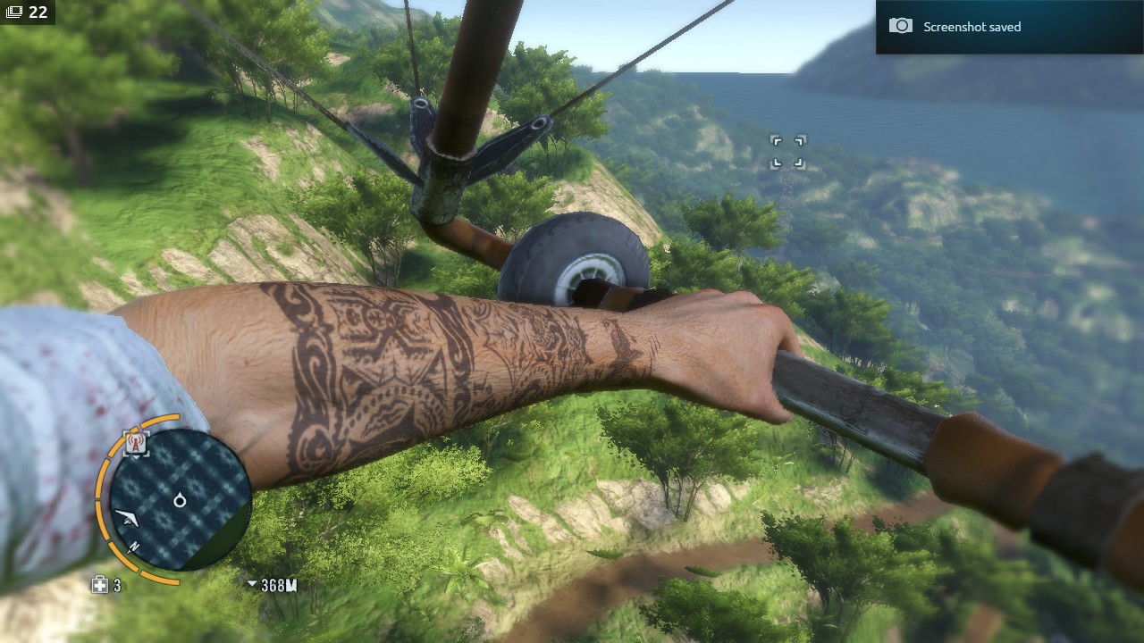 far cry 3 full tattoo in game
