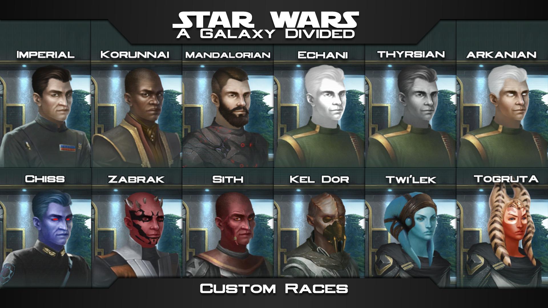 Steam Workshop Star Wars A Galaxy Divided