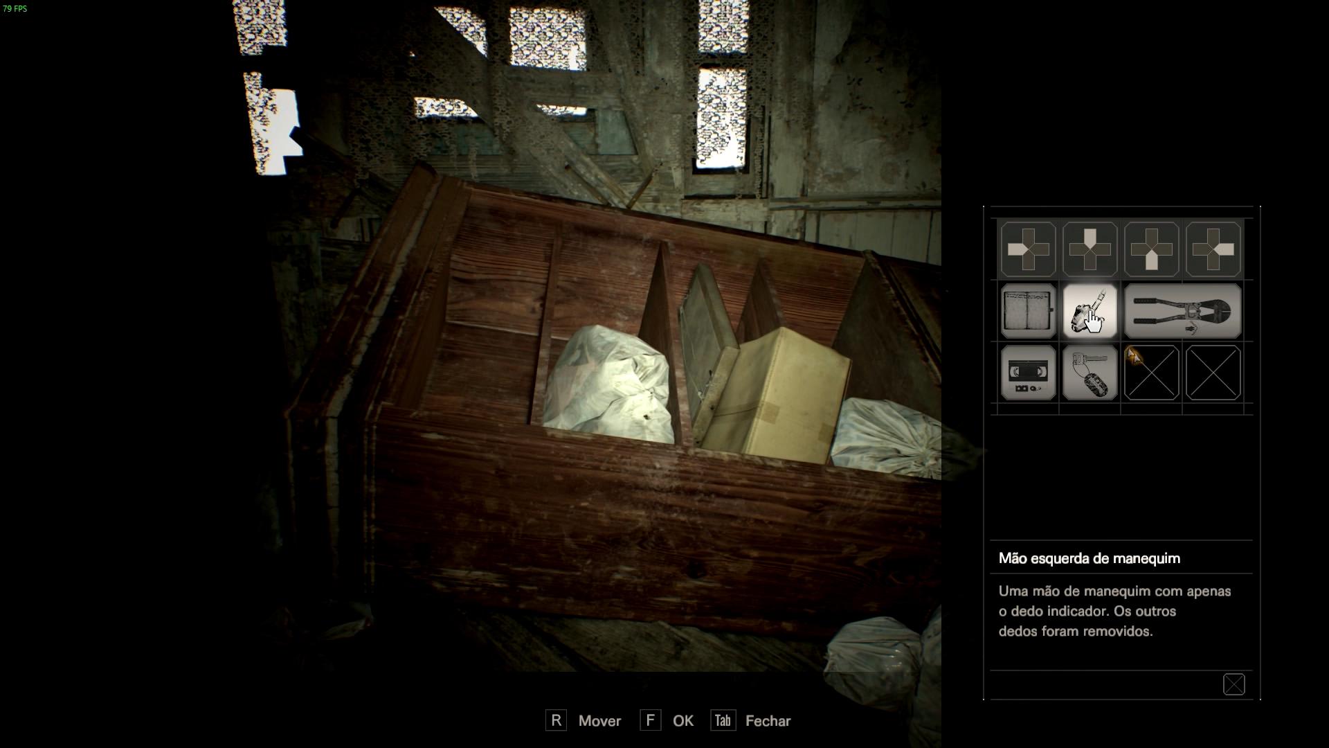 d06988f5a 8- Inicie a investigação do segundo assassinato que fica sótão naquela  porta que está bloqueada com tábuas pregadas