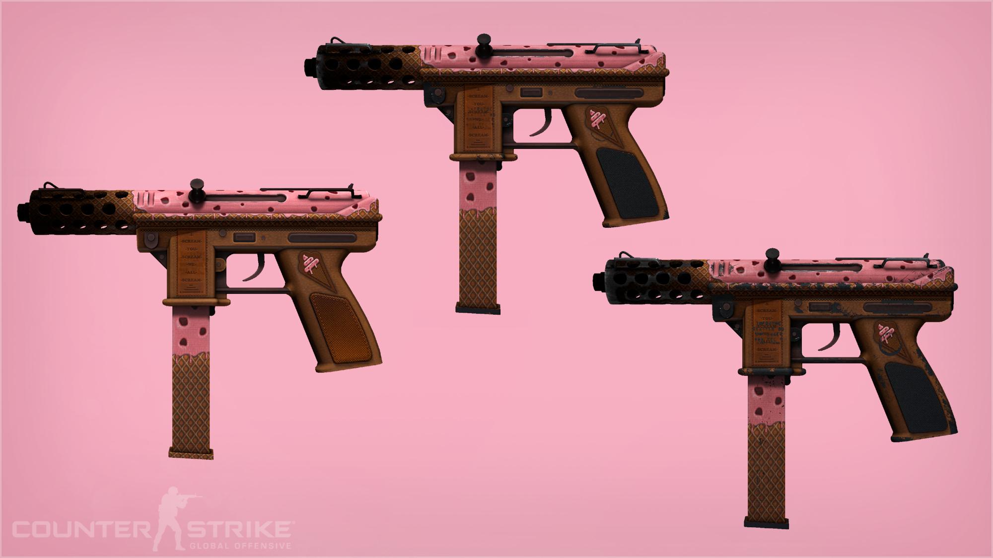 tec-9 pink