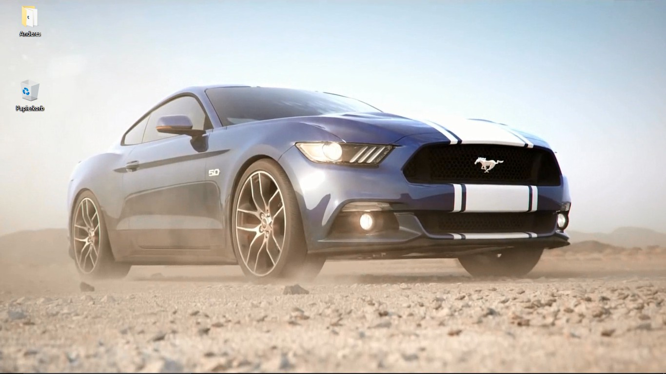 Ford Mustang Wallpaper Engine