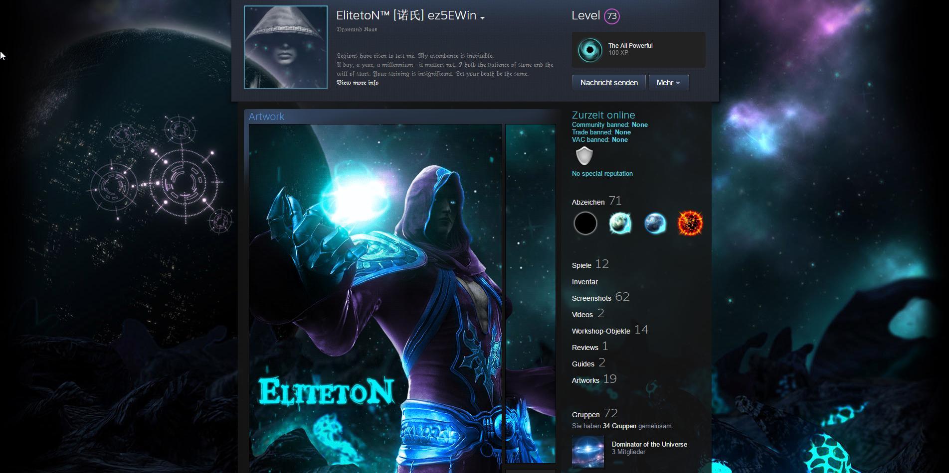 Steam Community :: Guide :: Advanced Steam Profile Customization