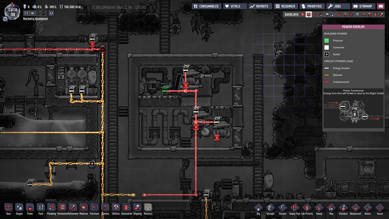 Steam Community Guide Useful Construction Patterns Wiring Your Jaw Shut The Final Structures Will Need Capacity For 960 W At Max While I Used Conductive Wire In These Images Standard Is Fine