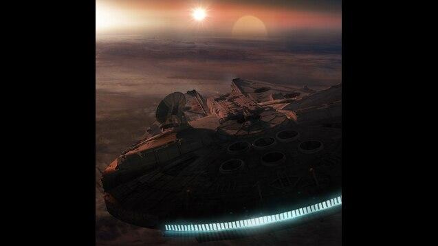 Steam Workshop Star Wars Millennium Falcon 4k