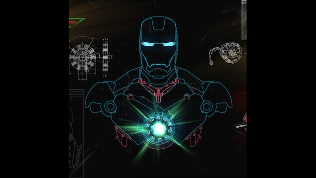 Steam Workshop Wallpaper Stark Industries Iron Man And Jarvis 1382