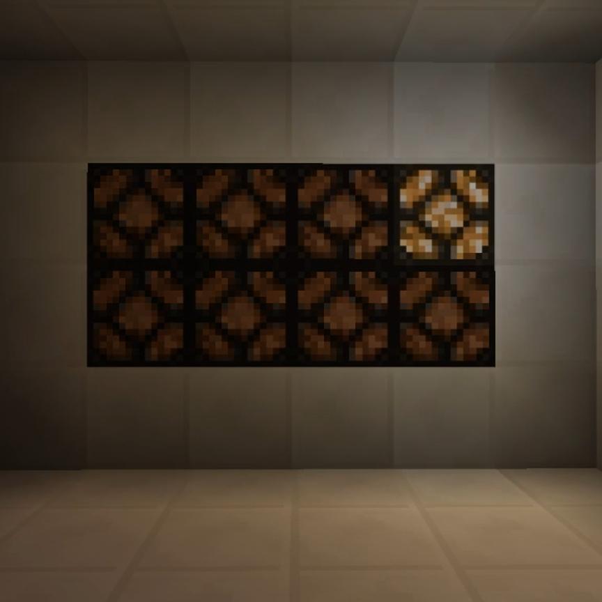 Redstone Lamp Minecraft Redstone Lamps Flashing Lights Tutorial