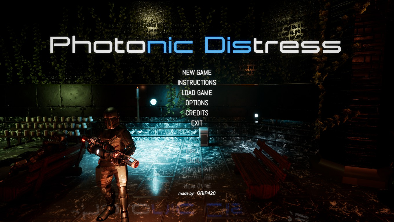 Photonic Distress Menu
