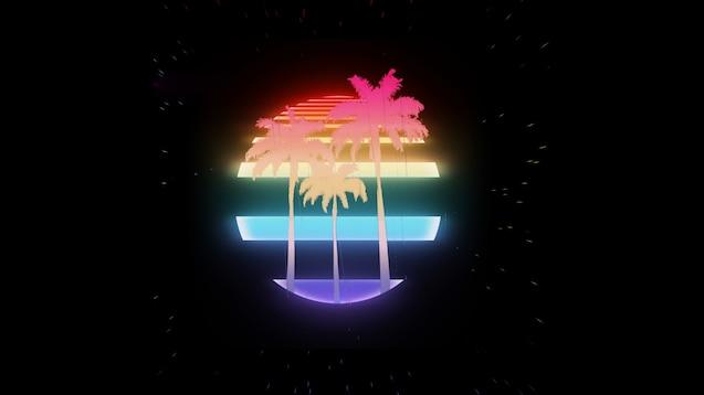 Steam Workshop Vaporwave Palm Tree