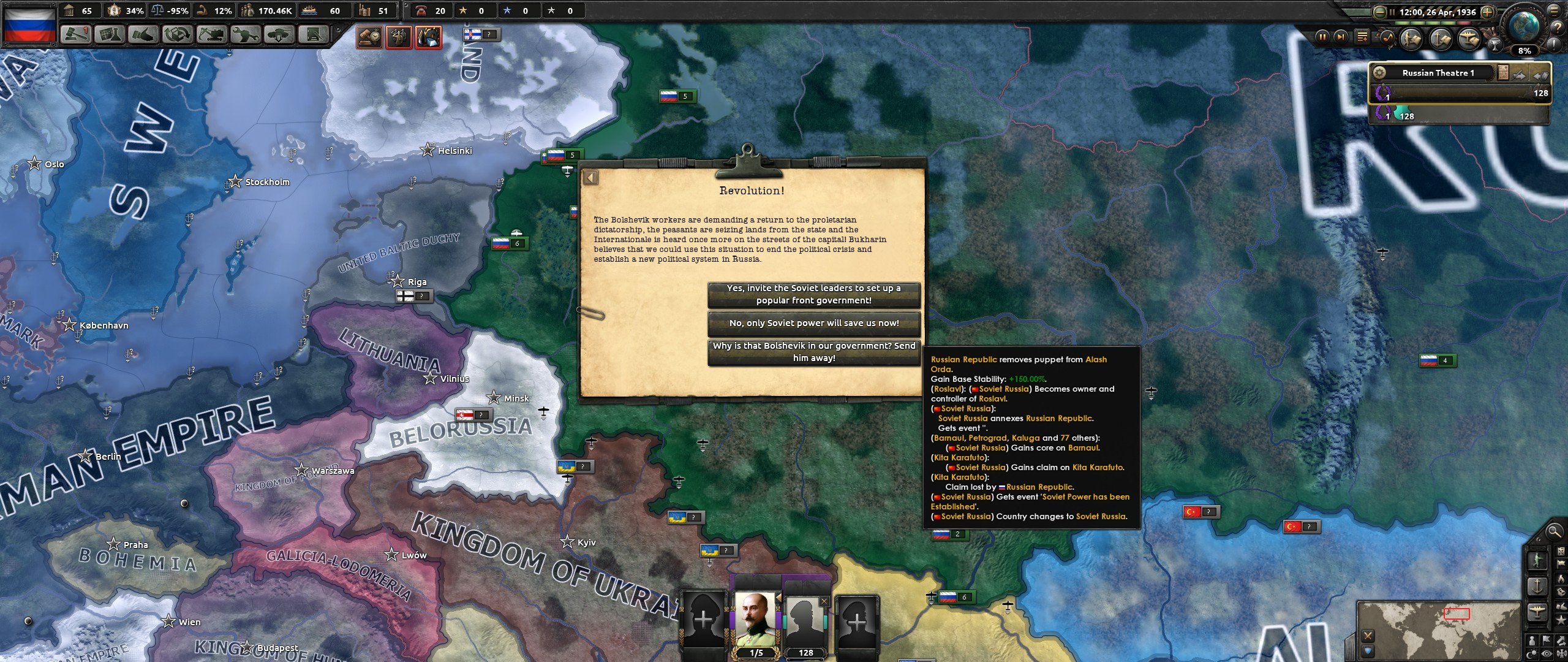 Steam Community :: Guide :: How to Form the Soviet Union in
