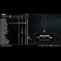Skyrim Unlimited Rings And Amulets (ENG) v. 1.5画像