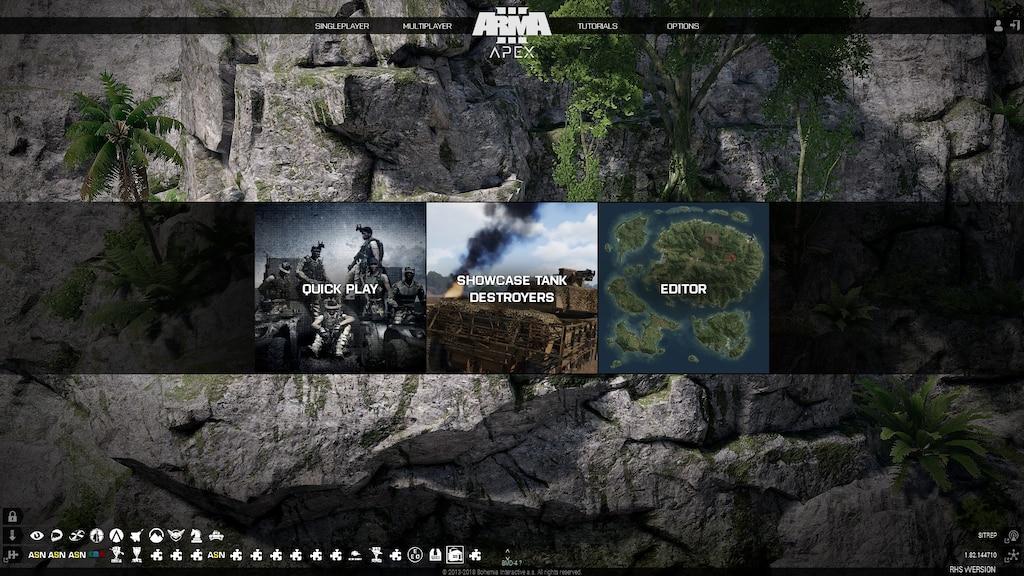 Steam Community :: Screenshot :: Apex Menu Screen for ArmA 3