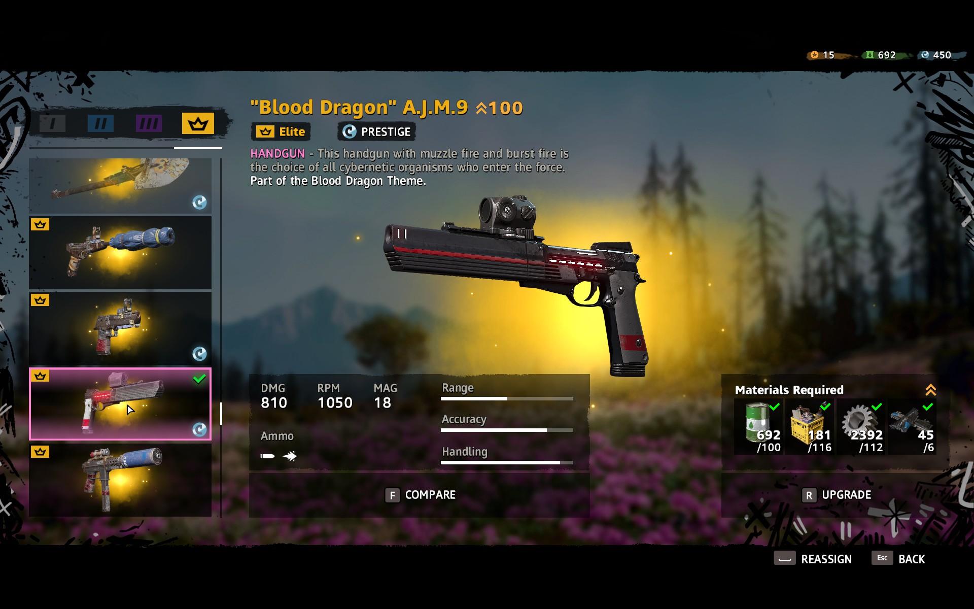 Steam Community Screenshot Lvl 100 Blood Dragon A J M 9