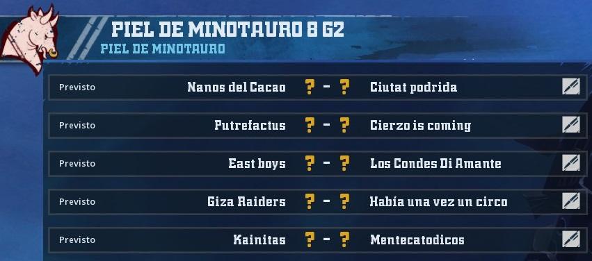 Campeonato Piel de Minotauro 8 - Grupo 2 / Jornada 4 - hasta el viernes 15 de marzo - Página 2 B92099A0BABA7E992221563F99750FCCD5BB803B