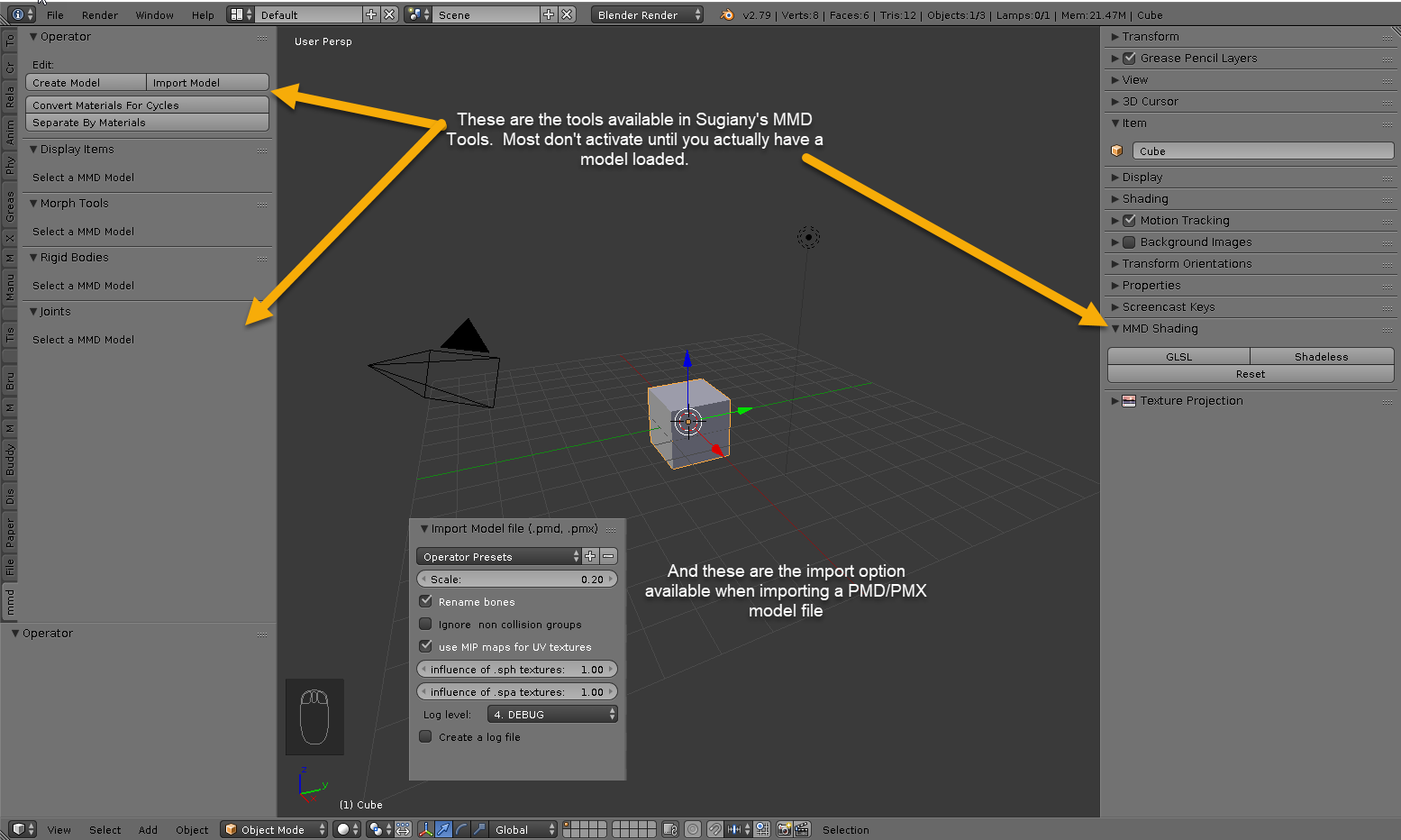 How to add mmd tools to blender | How to Install Blender: 13 Steps