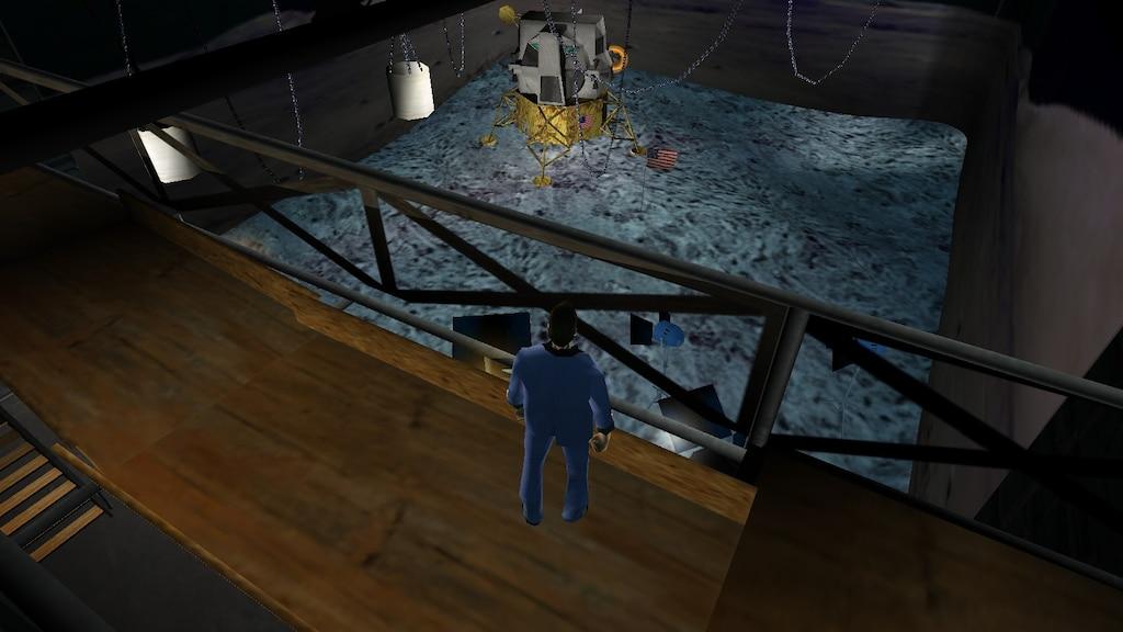 Steam Community :: Screenshot :: Moon landing conspiracy theories