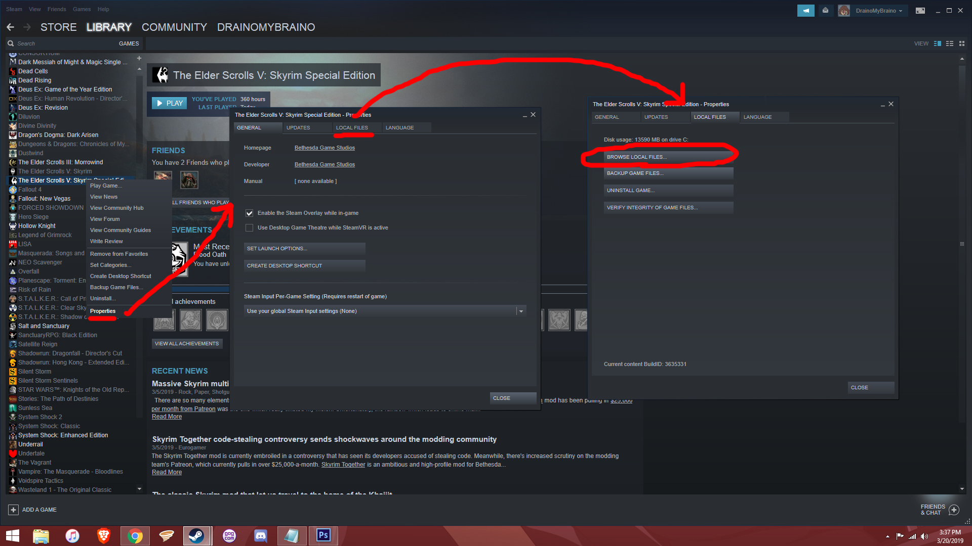 Steam Community :: Guide :: Fix SKSE64 after update