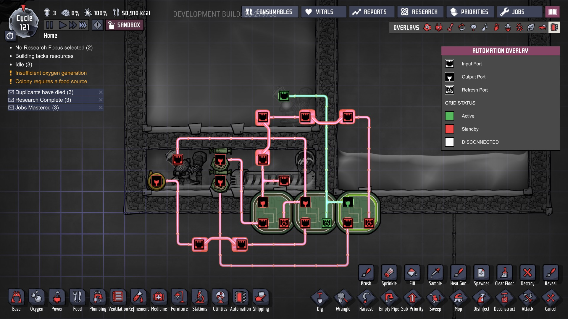 Steam Community Guide Automation Design 101 Designing Logic Simple Liquid Detector Circuit Diagram Using Gate You Could Run The Heater And Filling Pump Off Same State Thus Decreasing Machine To Two States However Wouldnt Be As Versatile It