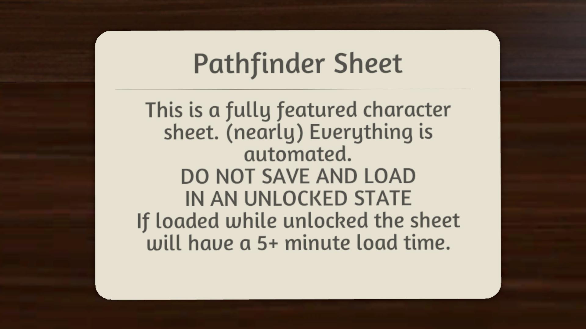 Steam Workshop :: Qalhara's Pathfinder Character Sheet